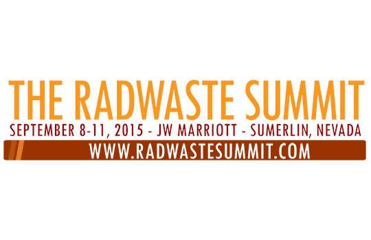 RadWaste Summit 2015